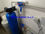 Odstranění manganu filtrem A80EXtreme a bakterií dávkovacím čerpadlem ET 02/06 - Trhová Kamenice