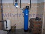 Odstranění manganu a zvýšení pH filtrem A 60 P 300-Hostějeves