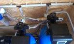 Odstranění nadlimitních prvků filtrem TWIN A160EXtreme+2x RO ME 70-Zadní Kopanina