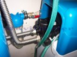 Odstranění železa a manganu filtrem A60P300+A35EXtreme kabinet-Heřmanova Huť