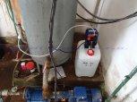 Odstranění CHSK Mn, železa, amonných iontů a bakterií filtrem TWIN A160EXtreme a ET 0206-Veltruby