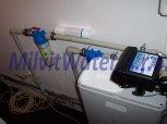 Odstranění železa a amonných iontů filtrem A30EXtreme Slim-Velký Osek