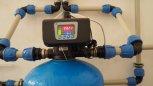"""Zvýšení pH centrálně a odstranění železa filtrem TWIN A520P300 G2"""" - Rohozná"""
