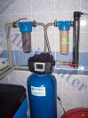 """Změkčení vody a odstranění železa filtrem A 35 (K) EXtreme G1""""+UV lampa+RO-Skyšice"""