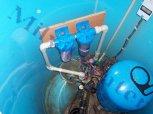 Odstranění kalu z vody Atlas filtry - Lhotky u Malotic