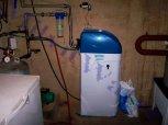 Změkčení vody změkčovacím filtrem A 35 K v kabinetovém provedení a odstranění dusičnanů - Dobré Pole