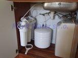 Změkčení vody filtrem A25K a odstranění dusičnanů lokálně-Pučery
