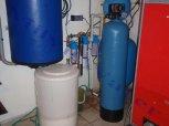 """Změkčení a zároveň odželeznění a odmanganování filtrem A 100 K WG 5600 G1"""" - Hradce"""