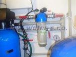 Snížení dusičnanů, dusitanů a manganu filtrem A35K-AN PLUS a odstranění bakterií UV lampou-Chroustov