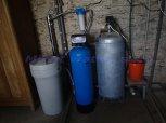 Změkčení vody filtrem A35K, snížení dusičnanů Reverzní osmózou a odstranění bakterií UV lampou-Zehub