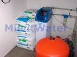 Změkčení vody změkčovacím filtrem A35K v kabinetu - Kroměříž
