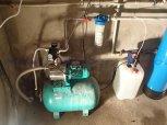 Odstranění železa a amonných iontů filtrem A60EXtreme a odstranění bakterií ET-Svinary