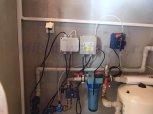 Odstranění železa, zákalu a tvrdosti vody filtrem A35EXtreme-AA a dávkovací čerpadlo ET 0206-Choltic