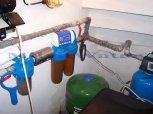 """Odstranění tvrdosti vody a drobné železitosti filtrem A35K G1"""", dusičnanů RO a bakterií UV lampou-Př"""