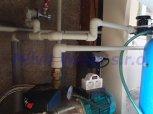 Změkčení, odstranění dusičnanů filtrem A35K-AN PLUS a odstranění bakterií-Drhovy