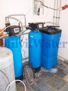 """Odstranění železa a tvrdosti vody filtry A35D G1"""" s dávkovacím čerpadlem a A35K G1""""-Starkoč"""