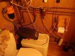 Změkčení vody a odstranění drobného železa filtrem A10K kabinet-Poteplí+odstranění bakterií UV lampo