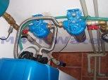 """Změkčení vody a odstranění drobného železa změkčovacím filtrem A 35 K G1"""" v kabinetu-Březí"""