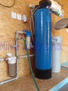 Odstranění železa, manganu, tvrdosti vody, amonných iontů a CHSK Mn filtrem A80EXtreme-Hradišťko I.