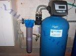 Odstranění železa, manganu, zákalu a barvy filtrem A 100 P