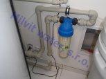 Změkčení vody filtrem A35K standard a snížení konduktivity a chlodridů Reverzní osmózou-Starý Vestec