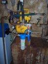 Změkčení vody změkčovacím filtrem A 35 K v kabinetovém provedení a UV lampa- Zbraň u Žíželic nad Cid