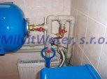Změkčení vody kabinetovým filtrem A35K-Veleň