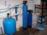 Změkčení a zárověň odželeznění vody filtrem A 60 K a odželeznění filtrem A 35 MTM- Polepy