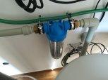 Snížení tvrdosti vody, železa, manganu, barvy a zákalu filtrem A150EXtreme-Kolín