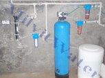 Změkčení vody a odstranění železa a manganu filtrem A80K a odstranění bakterií UV lampou-Nová Lhota