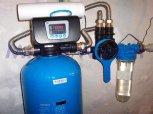 Odstranění železa a manganu filtrem A60D s dávkovacím čerpadlem ET-Chrást nad Sázavou