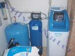 """Změkčení vody filtrem A 35 K kabinet a odstranění železa a manganu filtrem A 35 D G1"""" s dávkovacím"""