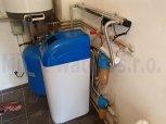 Odstranění železa a bakterií filtrem A35EXtreme kabinet a UV lampa LUXE 12-Rychnov