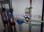 Snížení tvrdosti vody filtrem A 35 K v kabinetu a snížení dusičnanů reverzní osmózou - Horní Chvatli