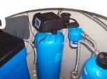 Změkčení vody změkčovacím filtrem A35K Standard a odstranění chloru filtrem R20UH-Zdiby