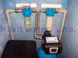 Odstranění železa a tvrdosti vody filtrem A35K standard-Zadní Třebáň
