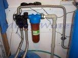 Odstranění železa a manganu filtrem A60P300+A35EXtreme kabinet+A35pH-Heřmanova Huť