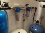 Snížení tvrdosti vody, odstranění železa, amonných iontů a bakterií filtrem A60EXtreme a dávkovacím