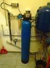 Odstranění železa a manganu filtrem A60P300 a zajištění bakteriologické nezávadnosti UV lampou A8Q-H