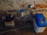 Změkčení vody filtrem A15K kabinet-Ohrazenice