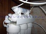Změkčení vody filtrem A35K standard a odstranění dusičnanů a síranů RO-Dvory