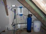 """Odstranění železa a manganu změkčovacím a odželezňovacím filtrem A 25 K G1"""" + UV lampa- Lipnice"""