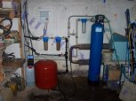 """Odstranění železa a manganu z vody filtrem A 60 D G1"""" a odstranění bakterií dávkovacím čerpadlem ET"""