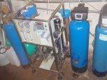 Odstranění dusičnanů filtrační sestavou RO-Vavřinec