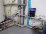 Odstranění bakterií dávkovacím čerpadlem ET 02/10 impulsní s vodoměrem-Kořenov