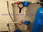 Snížení tvrdosti vody a železa filtrem A60K-Doubravčany
