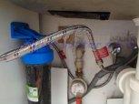 Změkčení vody filtrem A60K+2x UH filtr-Poděbrady