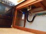 Odstranění bakterií UV lampou LUXE 5 a odstranění dusičnanů filtrem AN do linky-Nová Víska