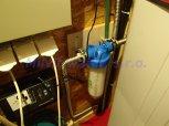 Snížení tvrdosti vody filtrem A30K Slim a snížení dalších prvků lokálně RO-Praha