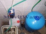 """Odstranění železa filtrem A35D G1"""" a odstranění bakterií dávkovacím čerpadlem - Golčův Jeníkov"""